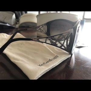Yves St. Laurent Shield sunglasses